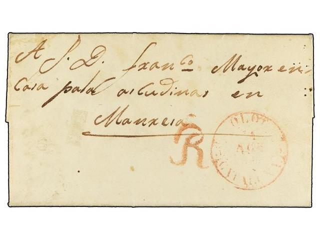 Lot 20 - SPAIN: PREPHILATELIC MARKS  DP05 CATALUÑA  -  Filatelia Llach s.l. Mail Auction #156