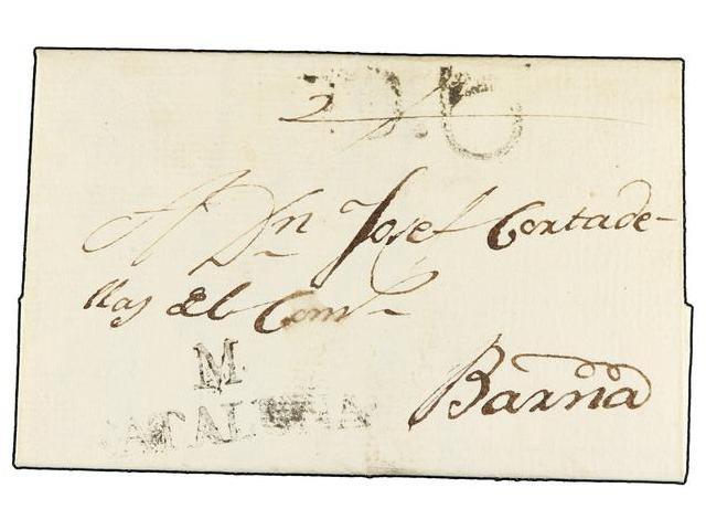 Lot 21 - SPAIN: PREPHILATELIC MARKS  DP05 CATALUÑA  -  Filatelia Llach s.l. Mail Auction #156