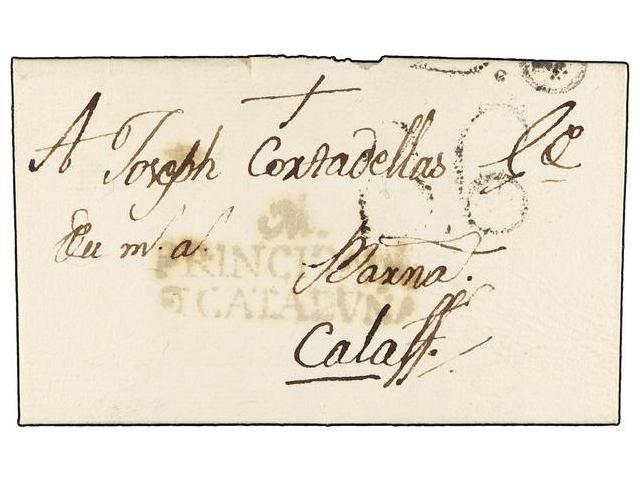 Lot 23 - SPAIN: PREPHILATELIC MARKS  DP05 CATALUÑA  -  Filatelia Llach s.l. Mail Auction #156
