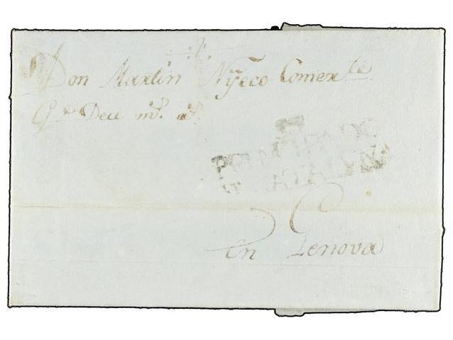 Lot 48 - SPAIN: PREPHILATELIC MARKS  DP05 CATALUÑA  -  Filatelia Llach s.l. Mail Auction #156