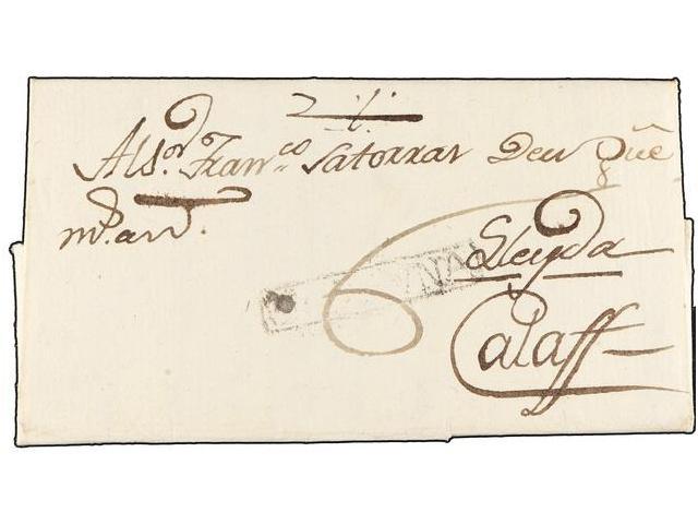 Lot 59 - SPAIN: PREPHILATELIC MARKS  DP05 CATALUÑA  -  Filatelia Llach s.l. Mail Auction #156