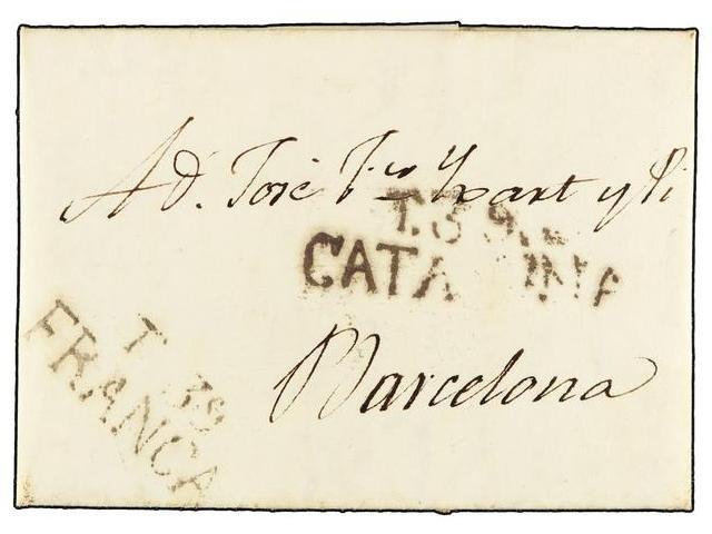Lot 64 - SPAIN: PREPHILATELIC MARKS  DP05 CATALUÑA  -  Filatelia Llach s.l. Mail Auction #156