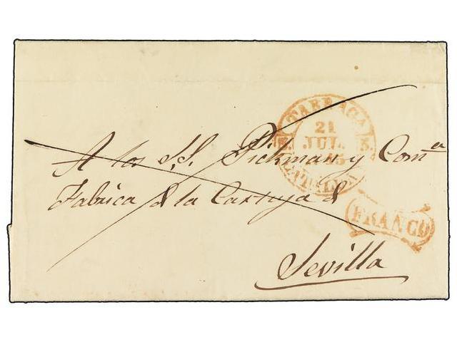 Lot 65 - SPAIN: PREPHILATELIC MARKS  DP05 CATALUÑA  -  Filatelia Llach s.l. Mail Auction #156