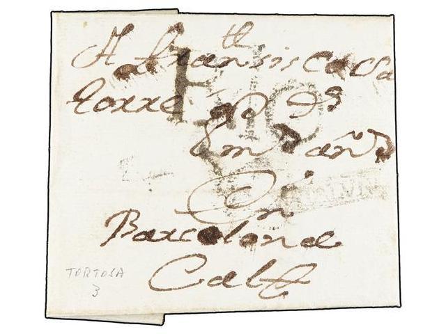 Lot 77 - SPAIN: PREPHILATELIC MARKS  DP05 CATALUÑA  -  Filatelia Llach s.l. Mail Auction #156