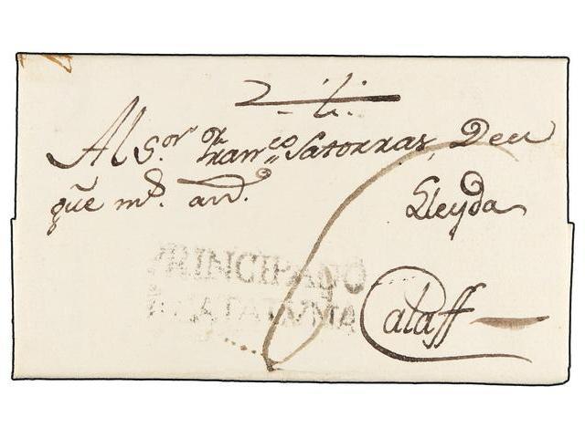 Lot 88 - SPAIN: PREPHILATELIC MARKS  DP05 CATALUÑA  -  Filatelia Llach s.l. Mail Auction #156