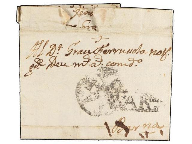 Lot 99 - SPAIN: PREPHILATELIC MARKS  DP05 CATALUÑA  -  Filatelia Llach s.l. Mail Auction #156
