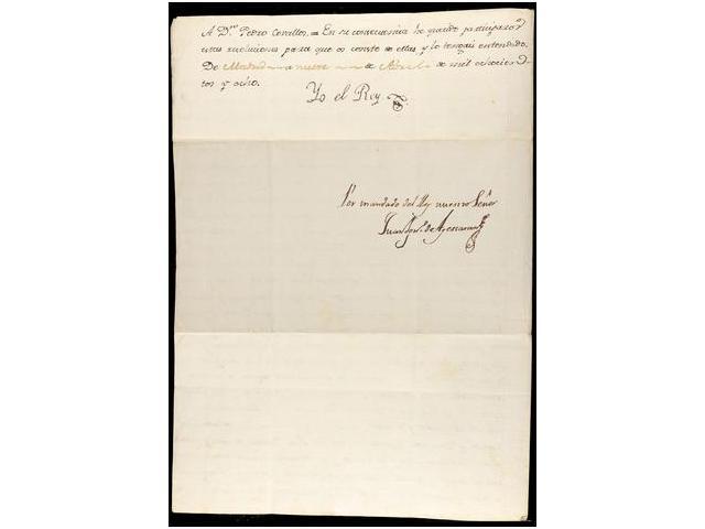 Lot 1 - SPAIN. OLD DOCUMENTS  -  Filatelia Llach s.l. Mail Auction #156