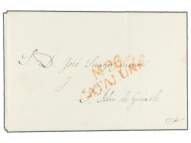 Lot 26 - SPAIN: PREPHILATELIC MARKS  DP05 CATALUÑA  -  Filatelia Llach s.l. Mail Auction #156