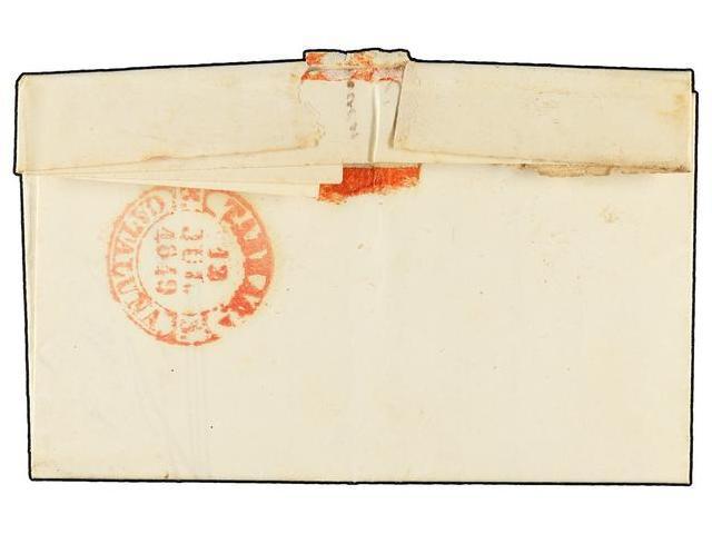 Lot 74 - SPAIN: PREPHILATELIC MARKS  DP05 CATALUÑA  -  Filatelia Llach s.l. Mail Auction #156