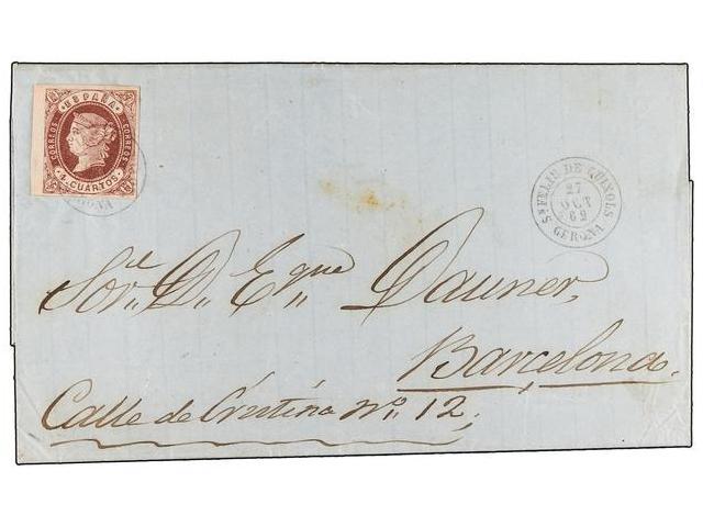 Lot 50 - SPAIN: PREPHILATELIC MARKS  DP05 CATALUÑA  -  Filatelia Llach s.l. Mail Auction #156