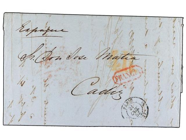 Lot 101 - SPAIN: PREPHILATELIC MARKS  DP11 VIZCAYA  -  Filatelia Llach s.l. Mail Auction #156