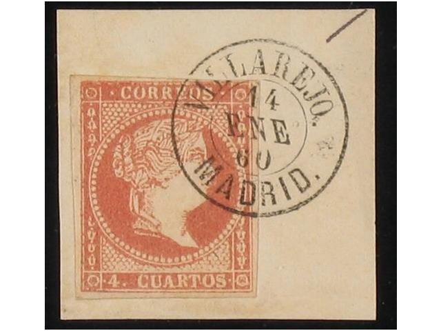 Lot 218 - SPAIN: CUATRO CUARTOS n.48  -  Filatelia Llach s.l. Mail Auction #156